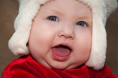Alegria do Natal Imagens de Stock