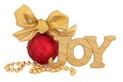 Alegria do Natal Imagens de Stock Royalty Free