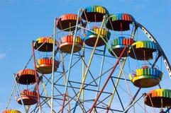 Alegria-roda colorida imagens de stock royalty free
