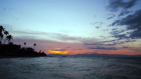 Alegria Sunset Timelapse 01 stock video footage