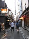 alei Japan Kyoto pontocho Obraz Stock