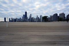 alei plażowa północ przygotowywająca siatkówka Zdjęcie Stock