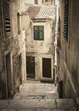 alei stary średniowieczny Fotografia Stock