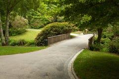 Aleia bonita no parque Projeto ajardinando do jardim Fotos de Stock Royalty Free
