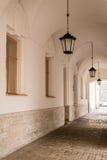 Aleia com lanternas Imagem de Stock Royalty Free