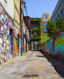 Aleia dos grafittis de Toronto Foto de Stock