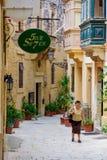 Aleia em Birgu Imagens de Stock