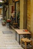 Aleia na cidade velha, em Nazareth Imagem de Stock
