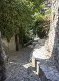 Aleia pequena da pedra Erzegovina em Mostar, Bósnia Foto de Stock Royalty Free
