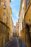 Aleia pitoresca em Aix-en-Provence, França Foto de Stock