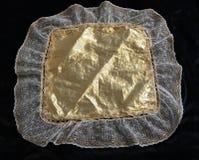 Aleijado feito a mão e laço dos lenços do vintage foto de stock royalty free