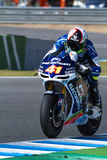 Aleix Espargaro πειραματικό MotoGP Στοκ Φωτογραφίες