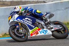 Aleix Espargaro πειραματικό MotoGP Στοκ εικόνες με δικαίωμα ελεύθερης χρήσης