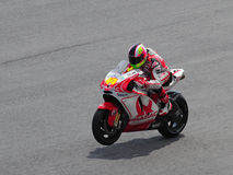 Aleix Espargaro in action Royalty Free Stock Images