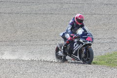 Aleix Espargaro, MotoGP Montmelo Stock Images