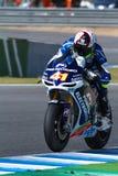 Aleix Espargaro pilot av MotoGP Arkivfoton