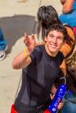 Aleix Espargaro pilot of MotoGP Royalty Free Stock Image