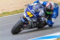 Aleix Espargaro proef van MotoGP Royalty-vrije Stock Foto's