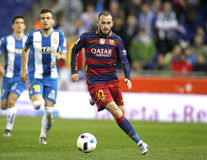 Aleix Vidal av FCet Barcelona Arkivfoton