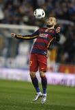 Aleix Vidal FC Βαρκελώνη στοκ εικόνα με δικαίωμα ελεύθερης χρήσης