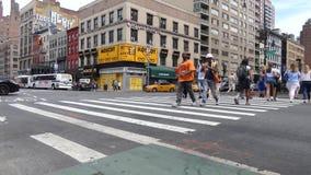 Aleja Ameryki w Miasto Nowy Jork zdjęcie wideo