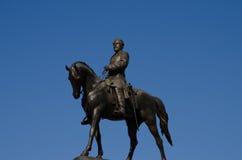 aleja e ogólny zawietrzny pomnikowy Richmond Robert Virginia lee Obraz Stock