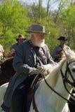aleja e ogólny zawietrzny pomnikowy Richmond Robert Virginia Lee Na Horseback Zdjęcie Royalty Free