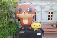 Aleja komiczek gwiazdy w Hong Kong Fotografia Stock