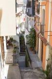 Aleja kraj, Calabria, Włochy Fotografia Stock