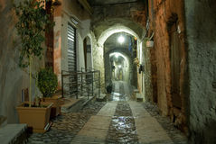 aleja Liguria Obrazy Stock