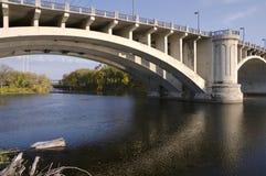 aleja przerzuca most wyspy nicollet tercja zdjęcie stock