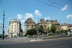 Aleja w Budapest Obrazy Stock