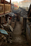Aleja w Chińskim antycznym miasteczku Zdjęcia Stock