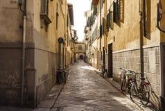 Aleja w Florencja Obrazy Stock