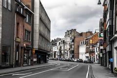Aleja w Hasselt, Belgia Obrazy Royalty Free