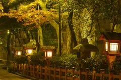 Aleja w Kyoto Zdjęcia Royalty Free