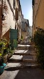 Aleja w Marseille Zdjęcia Stock