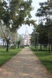 Aleja w parku Obraz Royalty Free