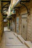 Aleja w starym mieście w Nazareth, Obraz Stock