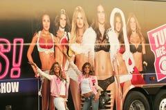 Alejandra Ambrosio, Bob Hope, Izabel Goulart, Victoria's Secret Imágenes de archivo libres de regalías