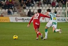 Alejandro Castro From Girona F.C. match league Stock Images