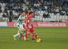 Alejandro Castro From Girona F.C. match league Royalty Free Stock Photos