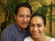 Alejandro et sucrerie Photographie stock libre de droits