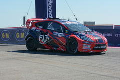 Alejandro Fernandez 126, drives a GRC Lites car, during the Red Royalty Free Stock Image