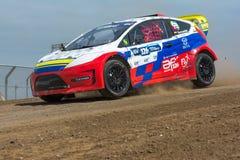 Alejandro Fernandez rally rally driver Royalty Free Stock Photos