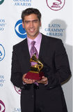 Alejandro Fernandez. Winner of the Best Ranchero Performance, at the 1st Annual Latin Grammy Awards at the Staples Center, Los Angeles Royalty Free Stock Images