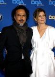 Alejandro G. Inarritu and Maria Eladia Hagerman Royalty Free Stock Photography
