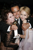 Alejandro Gonzalez Inarritu, Adriana Barraza und Rinko Kikuchi Lizenzfreie Stockfotografie