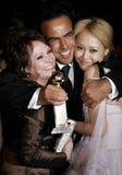 Alejandro Gonzalez Inarritu, Adriana Barraza und Rinko Kikuchi Stockfotografie