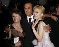 Alejandro Gonzalez Inarritu, Adriana Barraza y Rinko Kikuchi Imagen de archivo libre de regalías
